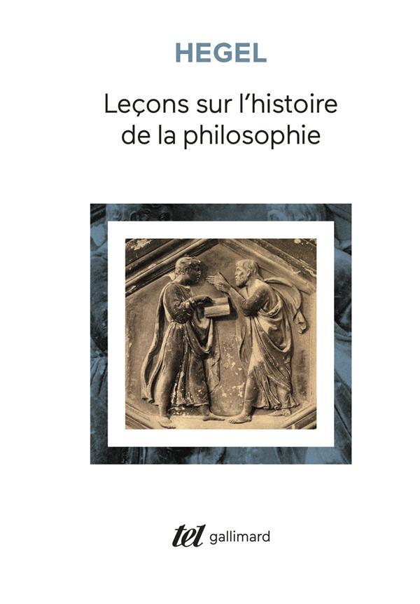 leçons sur l'histoire de la philosophie ; introduction : système et histoire de la philosophie