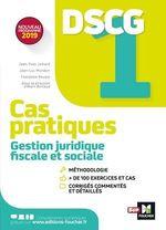 Vente Livre Numérique : DSCG 1 - Gestion juridique fiscale et sociale - Cas pratiques  - Jean-Luc Mondon - Jean-Yves Jomard - Alain Burlaud - Françoise Rouaix