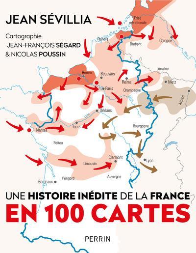 Une histoire inédite de la France en 100 cartes