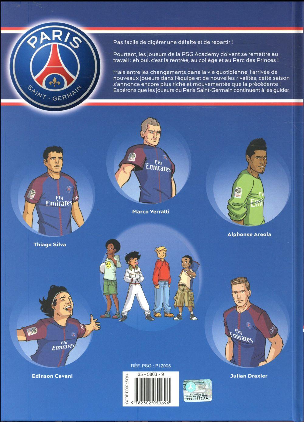 Paris Saint-Germain Academy ; la BD officielle t.9 ; nouvelle saison