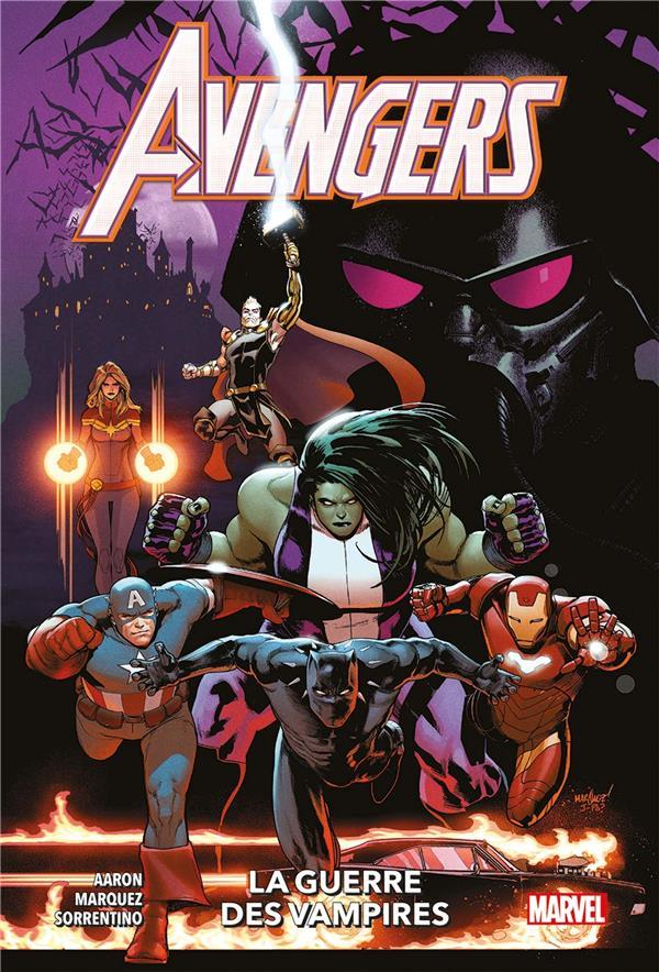 Avengers t.3 ; la guerre des vampires