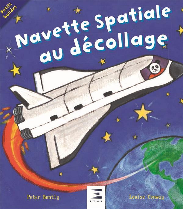 Navette spatiale au décollage