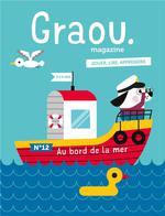 Couverture de Magazine Graou N 12 - Au Bord De La Mer