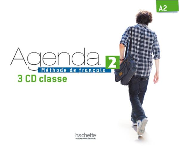 Agenda 2 - cd audio classe (x3)