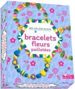 Bracelet fleurs pailletées