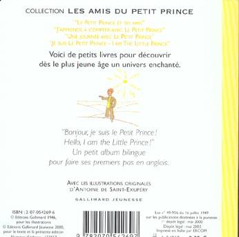 Je suis le petit prince/i am the little prince