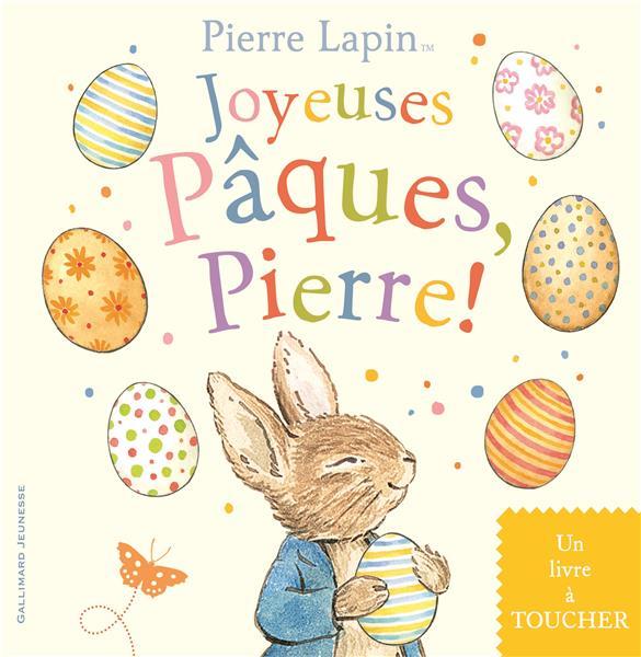 Joyeuses Pâques, Pierre - un livre à toucher