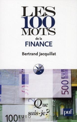 Les 100 mots de la finance (4e édition)