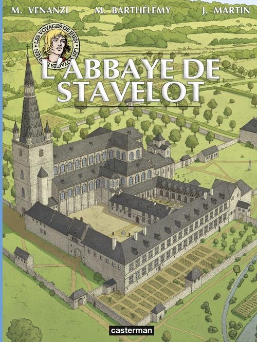 Les voyages de Jhen ; l'abbaye de Stavelot