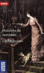 Couverture de Histoires de fantômes ; ghost stories