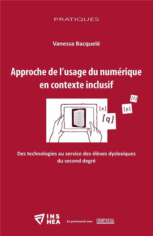 Approche de l'usage du numérique en contexte inclusif