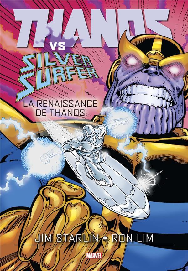 Thanos vs Silver Surfer : la renaissance de Thanos