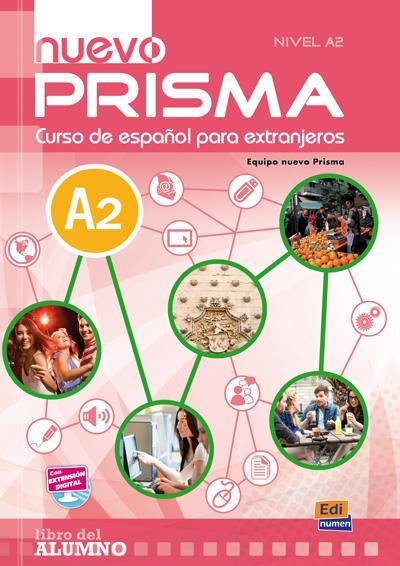 NUEVO PRISMA ; español ; A2 ; libro del alumno