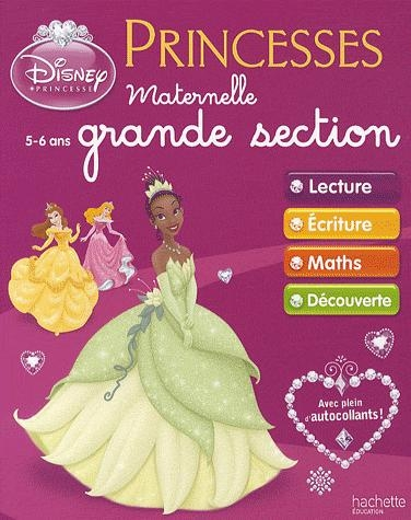 Princesses Disney ; Maternelle Grande Section ; Cahiers D'Exercices