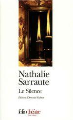 Vente Livre Numérique : Le Silence  - Nathalie Sarraute