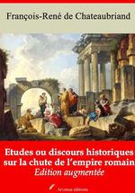 Vente Livre Numérique : Etudes ou discours historiques sur la chute de l´empire romain - suivi d'annexes  - François-René de Chateaubriand