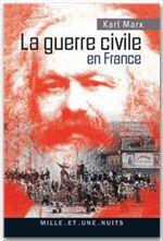 Vente Livre Numérique : La guerre civile en France  - Karl MARX