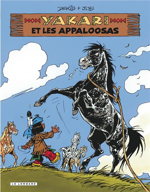 Yakari T.31 ; Yakari et les Appaloosas