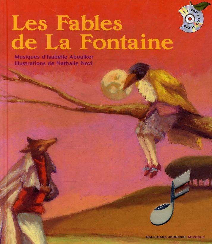 Les Fables De La Fontaine Liv Cd