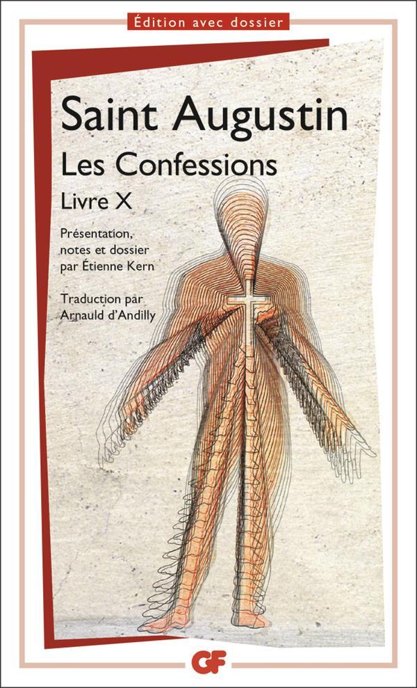 Les confessions ; livre X