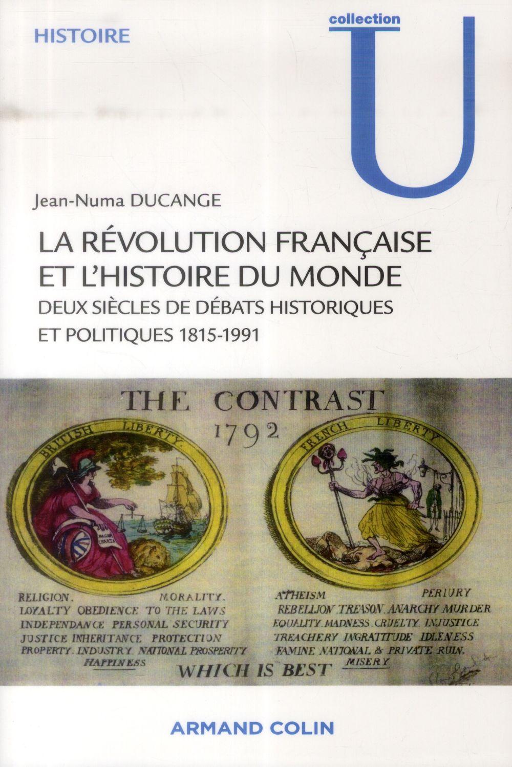 La Révolution française dans l'histoire du monde