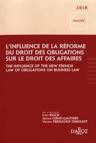 L'influence de la réforme du droit des obligations