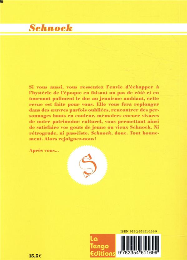 REVUE SCHNOCK n.32 ; Uderzo & Goscinny