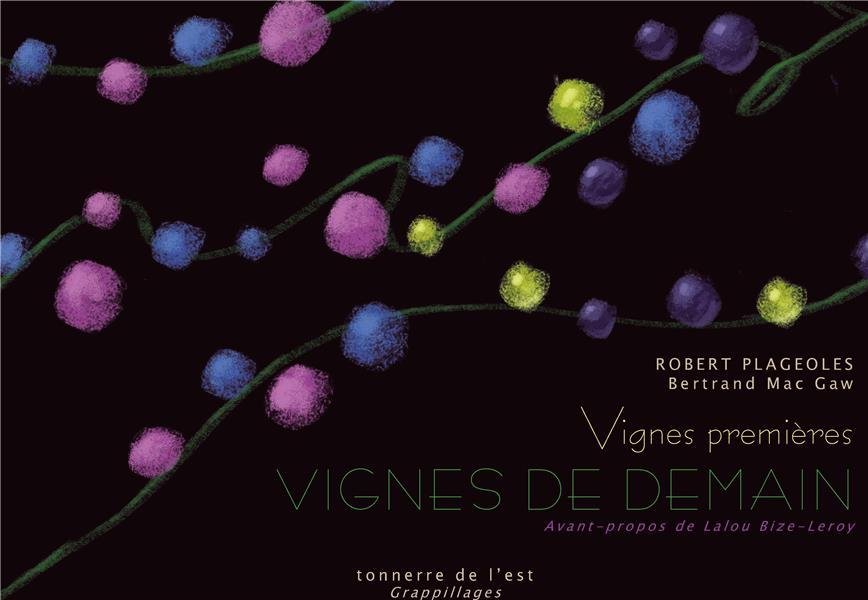 vignes premières, vignes de demain
