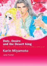Vente Livre Numérique : Harlequin Comics: Duty, Desire and the Desert King  - Jane Porter - Karin Miyamoto