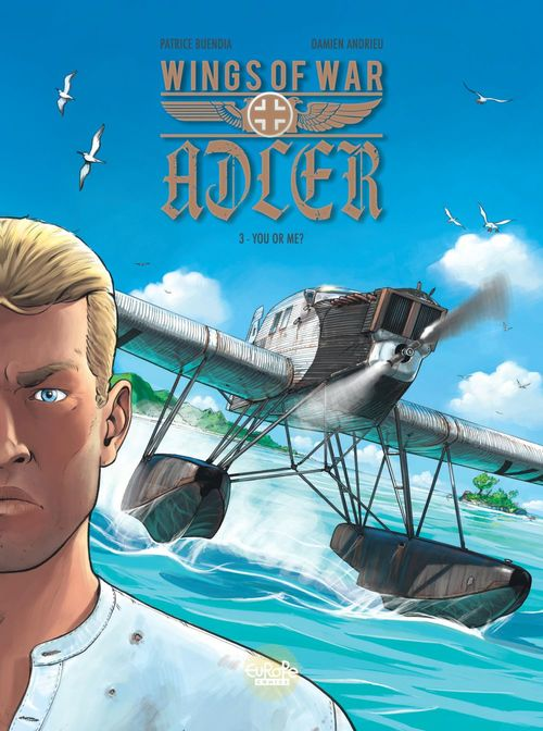 Wings of War Adler - Volume 3 - You or Me?  - Buendia Patrice