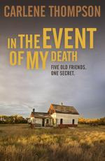 Vente EBooks : In the Event of My Death  - Carlene Thompson