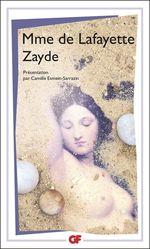 Vente Livre Numérique : Zayde. Histoire espagnole  - Madame de LA FAYETTE