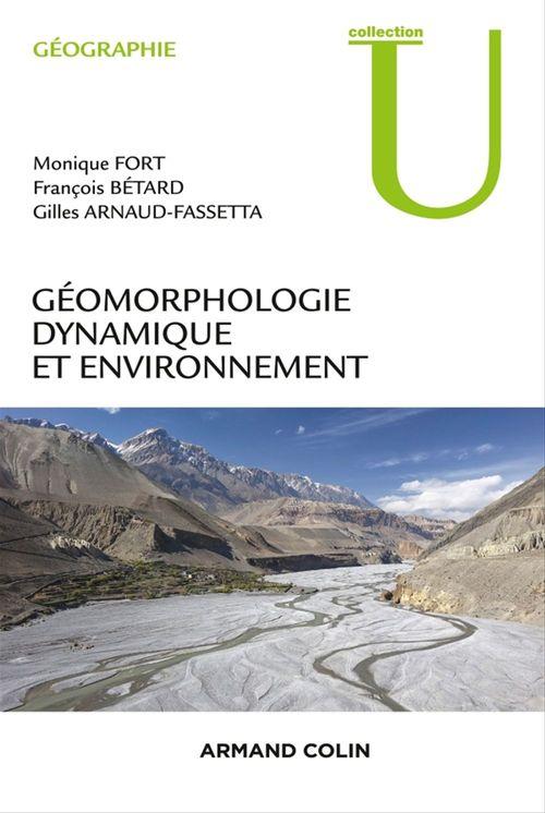 Géomorphologie dynamique et environnement