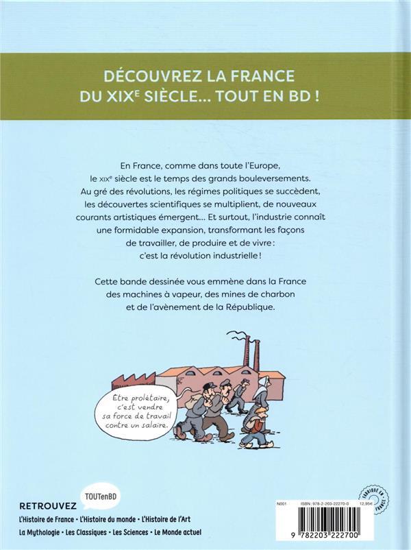 L'Histoire de France en BD ; la révolution industrielle