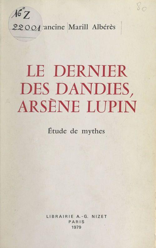 Le dernier des dandies, Arsène Lupin