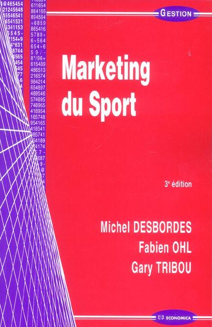 marketing du sport (3e édition)