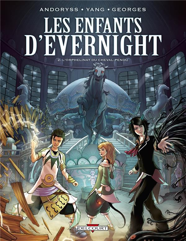 Les enfants d'Evernight T.2 ; l'orphelinat du cheval pendu