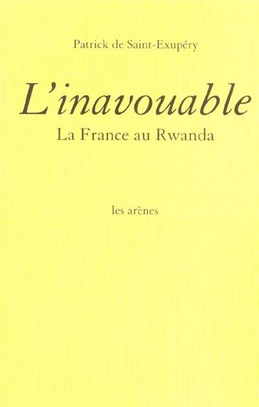 L'inavouable
