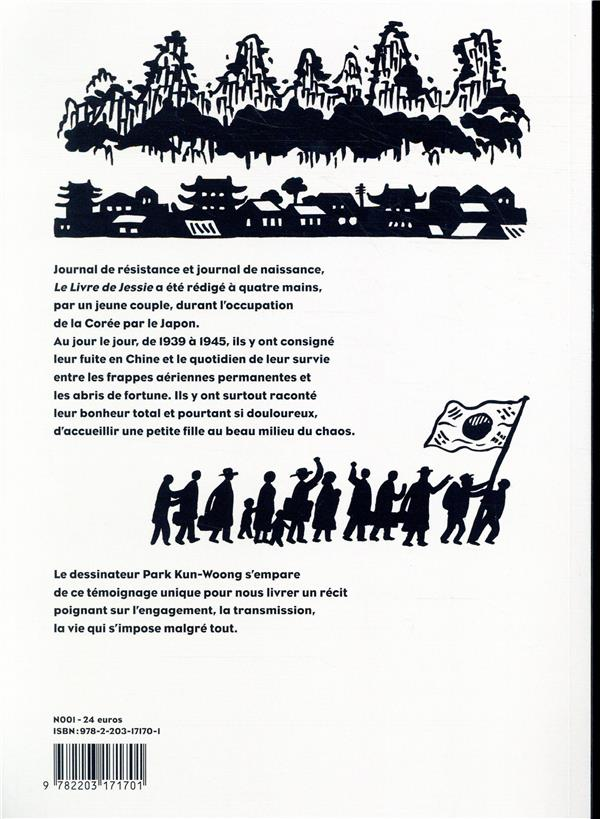 Le livre de Jessie ; journal de guerre d'une famille coréenne