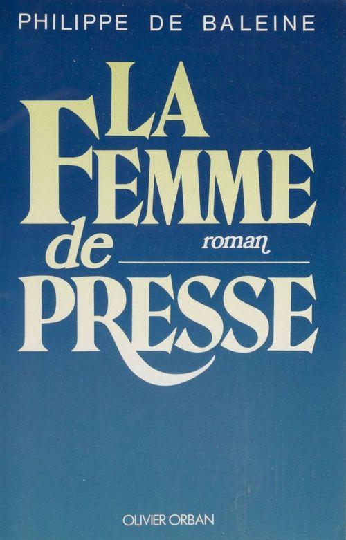 La femme de presse