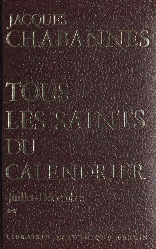 Les saints : 2000 ans d'histoire (2)