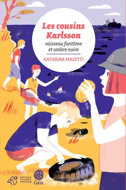 Les cousins Karlsson T.5 ; vaisseau fantôme et ombre noire