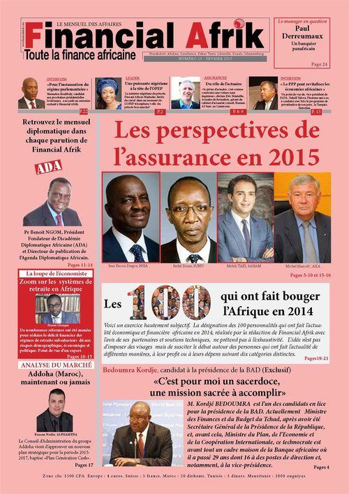 Financial Afrik n°15 février 2015