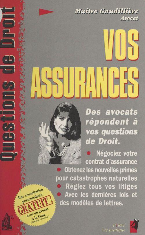 Vos assurances