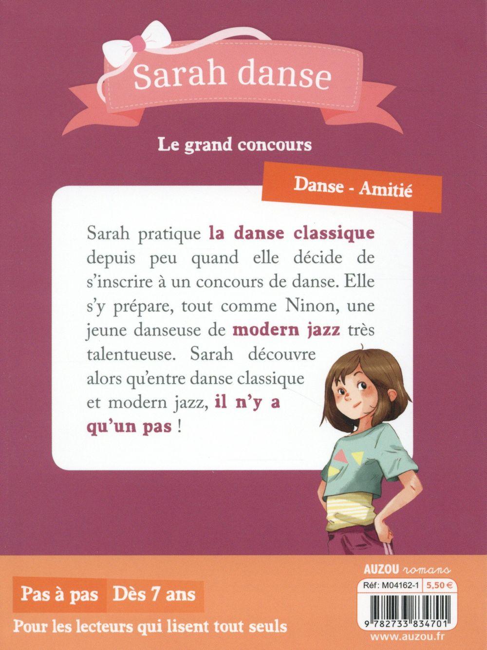 Sarah danse T.2 ; le grand concours