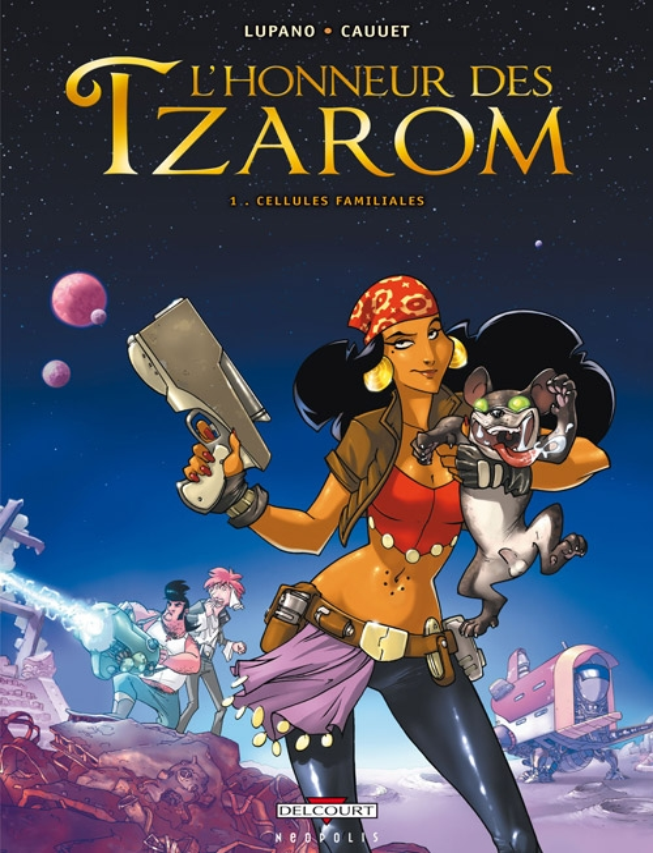 L'honneur des Tzarom T.1 ; cellules familiales