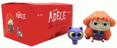 Mortelle Adèle ; coffret ; mortelle Adèle et Ajax ; 2 figurines
