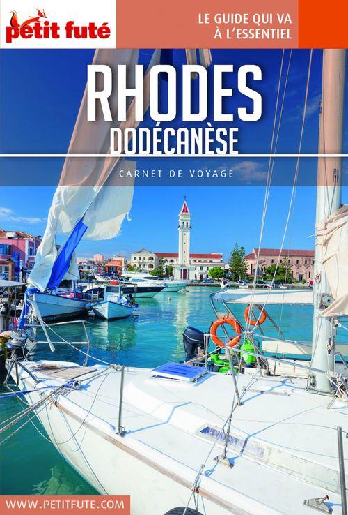 GUIDE PETIT FUTE ; CARNETS DE VOYAGE t.2018 ; Rhodes, Dodécanèse