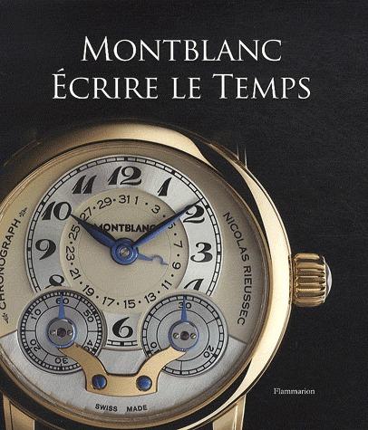 Montblanc ; écrire le temps