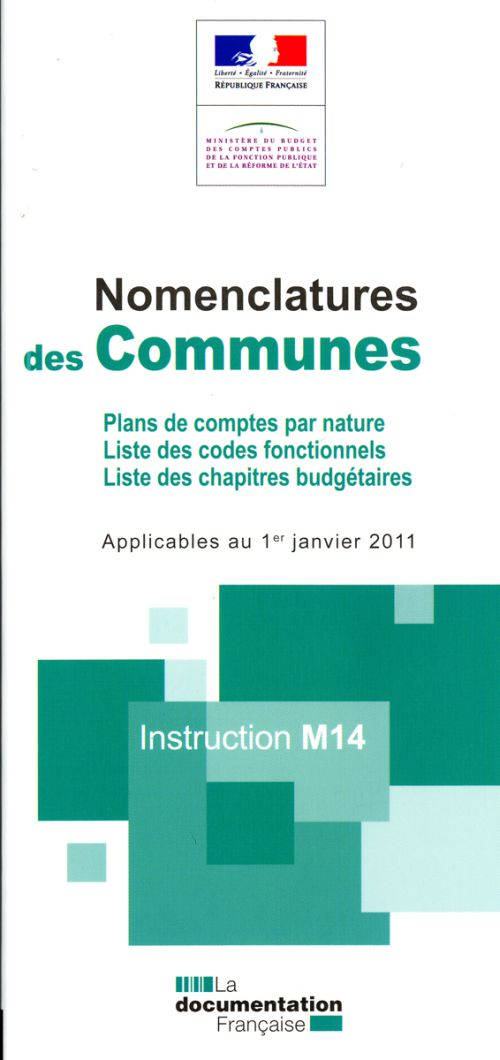 Nomenclature Des Communes ; Instruction M14